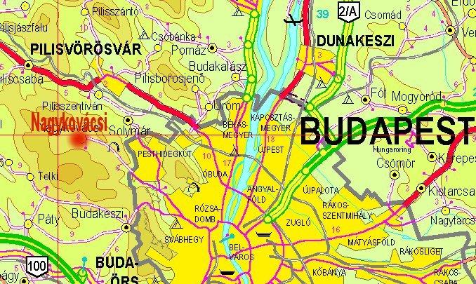 nagykovácsi térkép Nagykovácsi Térkép | groomania